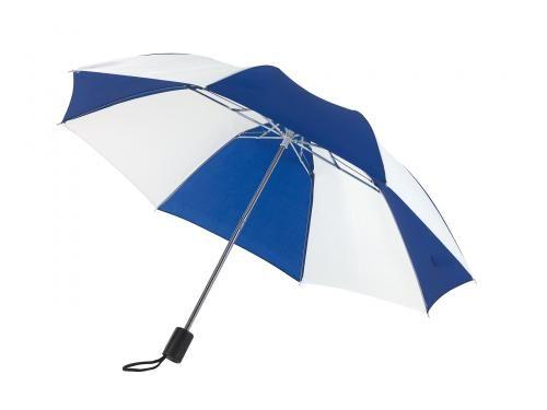 Parasol, REGULAR, biały/niebieski