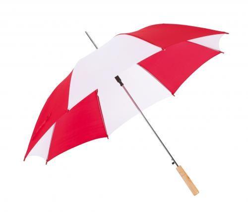 Parasol automatyczny, SALSA, czerwony/biały