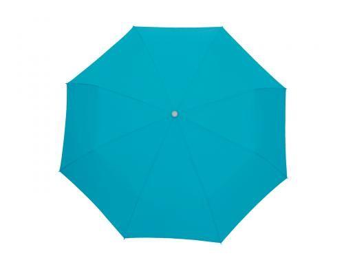 Parasol wodoodporny, Twist, turkusowy