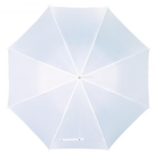 Parasol golf, WALKER, biały