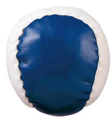 Piłeczka antystresowa JUGGLE, biały, niebieski