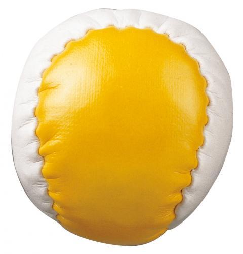 Piłeczka antystresowa JUGGLE, biały, żółty