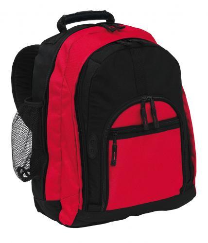 Plecak NEW CLASSIC, czarny, czerwony