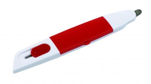Przyrząd biurowy, DESK TALENT, czerwony
