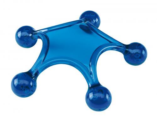 Przyrząd do masażu STARFISH, niebieski
