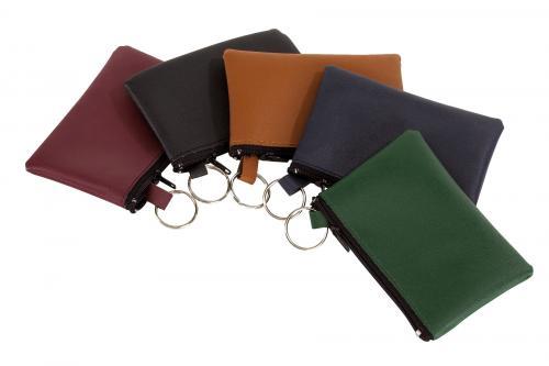 Sakiewka na klucze HOME, brązowy, zielony, czerwony, niebieski, czarny