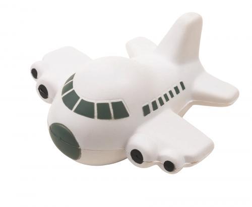 Samolot antystresowy TAKE OFF, szary, biały