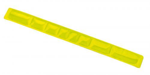 Samozaciskowy pasek odblaskowy SEE YOU, żółty