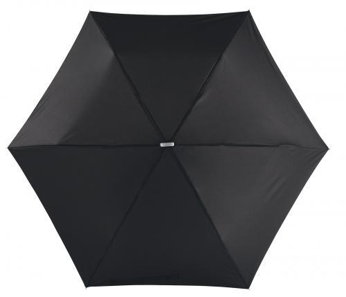 Super płaski parasol składany FLAT, czarny