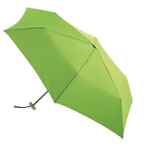 Super płaski parasol składany FLAT, jasnozielony