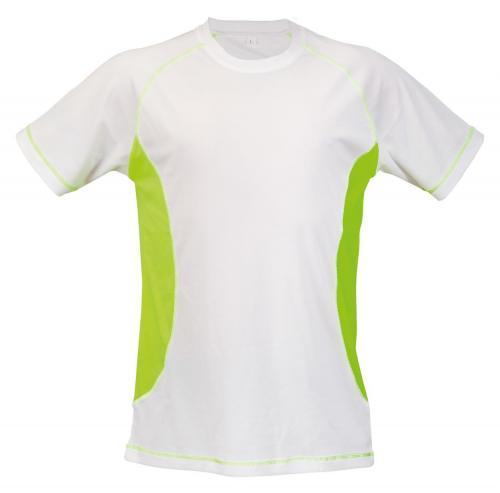 T-shirt Combi żółty fluorescencyjny