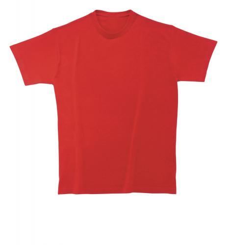 T-shirt Heavy Cotton czerwony