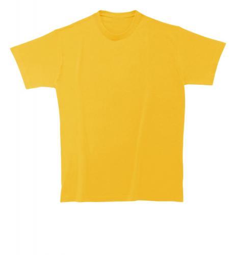 T-shirt Heavy Cotton żółty