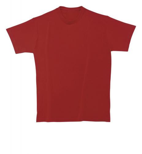 T-shirt Softstyle Man bordo