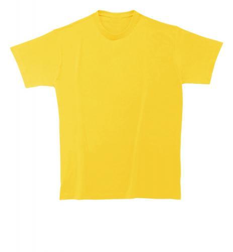 T-shirt Softstyle Man żółty