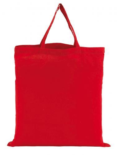 Torba bawełniana PURE, czerwony