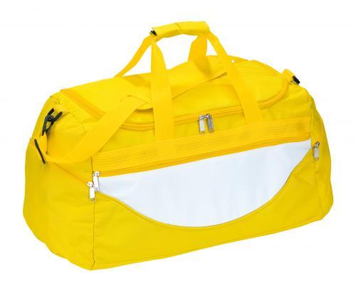 Torba na ramię CHAMP, biały, żółty