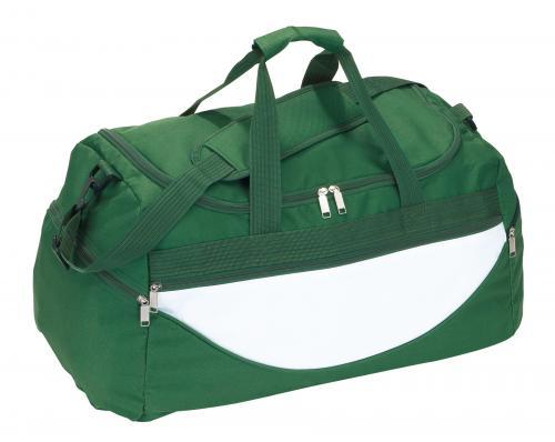 Torba na ramię CHAMP, zielony, biały