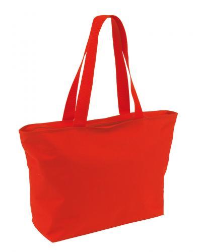 Torba na zakupy EASY, czerwony