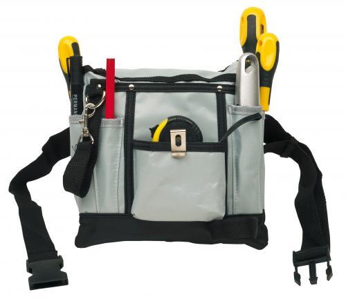 Torba z narzędziami na pasku DO IT, czarny, szary, żółty