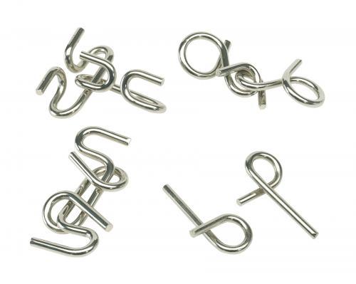Układanka zręcznościowa CLEVER CONCEPTION, srebrny