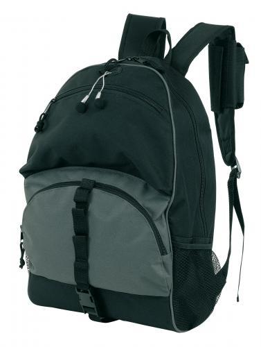 Wielofunkcyjny plecak RELAX, czarny, szary
