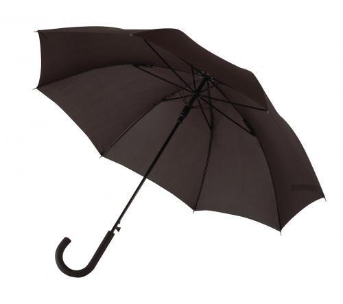 Parasol automatyczny, sztormowy, WIND, czarny