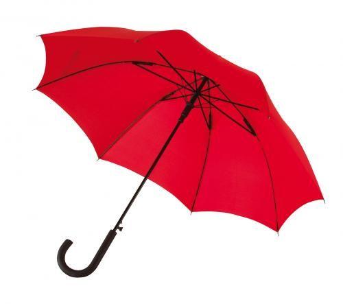 Parasol automatyczny, sztormowy, WIND, czerwony