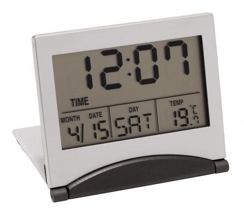 Zegar podróżny, ASTER, srebrny