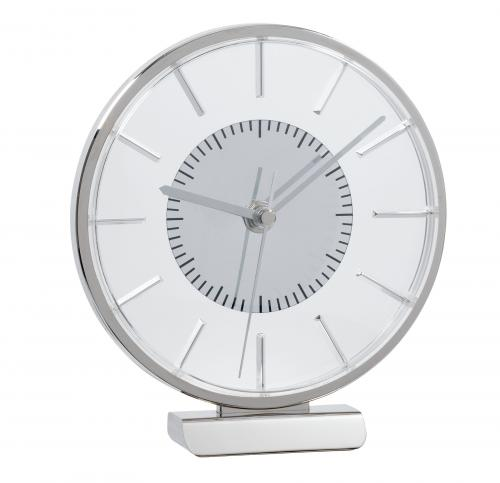 Zegarek na biurko AALBORG, srebrny