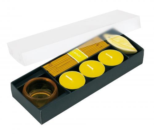 Zestaw świeczek ATMOSPHERE, cytryna